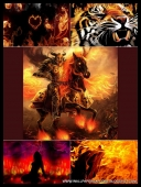 30 Fire Gothic 3D Darkside Wallpapers [Mix Res ][.jpg]