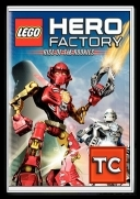 Lego Hero Factory: Pierwsze akcje rekrutow / Lego Hero Factory: Rise of the Rookies (2010) [DVDRip.XViD-TC][Dubbing PL][FS]