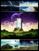 30 Fantasy Dreamy World Amazing Desktop Wallpapers { SET 6 } [Mix Res][.jpg]