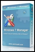 Windows 7 Manager 3.0.1 x86 & x64 [ENG] [SERIAL]