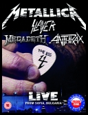 The Big Four - Metallica, Slayer, Megadeth, Anthrax -  Live in Sofia Rocks Sonisphere [2010][Blu-Ray][ENG][TC]