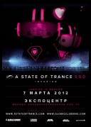 Armin van Buuren - A State of Trance Episode 550 (Day 2 Moscow) *2012* [mp3@256Kbps] [TC] [jans12]