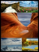 30 Amazing Nature Around the World HD Wallpapers [Mix Res] [SET 22] [.jpg]