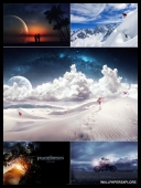 30 Window 7 Dreamy Unseen Desktop 3D HD Wallpapers { SET 75 } [JPG]