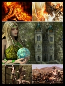 30 Sexy Fantasy Mythical Girls 3D Super Wallpapers { SET 63 } [JPG]