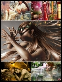 30 Sexy Fantasy Mythical Girls 3D Super Wallpapers { SET 64 } [JPG]