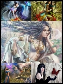 30 Sexy Fantasy Mythical Girls 3D Super Wallpapers { SET 65 } [JPG]