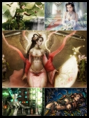 30 Sexy Fantasy Mythical Girls 3D Super Wallpapers { SET 68 } [JPG]
