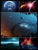 30 Space Planets and Universe Best HD Wallpapers { SET- 34 } [JPG]
