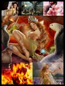 30 Sexy Fantasy Mythical Girls 3D Super Wallpapers { SET 72 } [JPG]