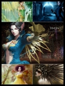 30 Sexy Fantasy Mythical Girls 3D Super Wallpapers { SET 81 } [JPG]