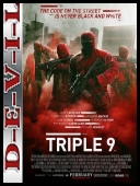 Psy mafii - Triple 9 (2016) [BDRip] [XviD-KiT] [Lektor PL]
