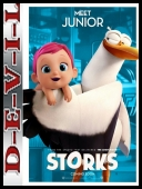 Bociany - Storks (2016) [BDRip] [XviD-KiT] [Dubbing PL]