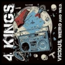 4 Kings (Ger) - Vicious, Weird And Wild (2017) [mp3320]