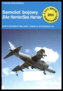 Samolot bojowy BAe Harrier Sea Harrier -  [TBiU 204] [PL] [rar]