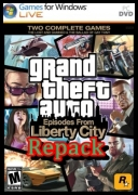 Grand Theft Auto 4: Episodes From Liberty City (2010) (ENG) Full-Rip (Repack) *ISO* [coolraper]