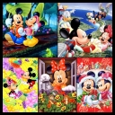Mickey and Friends Wallpapers [1024x768][JPG]